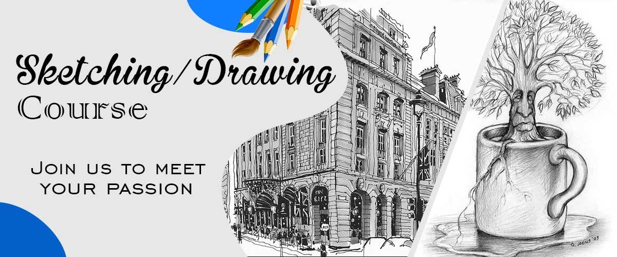 sketching classes in jaipur